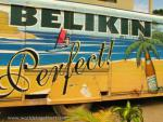 Beer truck with a caribbean sceen says Belikin, perfect!