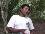 Mayan man talking
